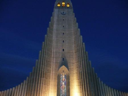 Hallgrímskirkja, Reykjavík. (Photo © Kate Narewska.)