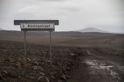 Kjölur route across the interior.