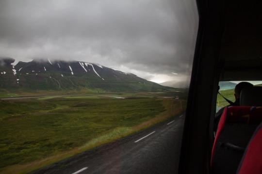 On the way to Húsavík.