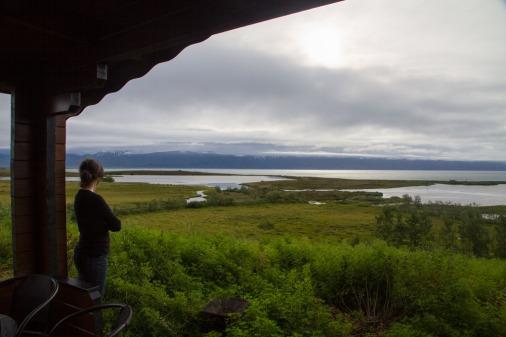 Cabin overlooking Skjálfandi Bay, Husavik.