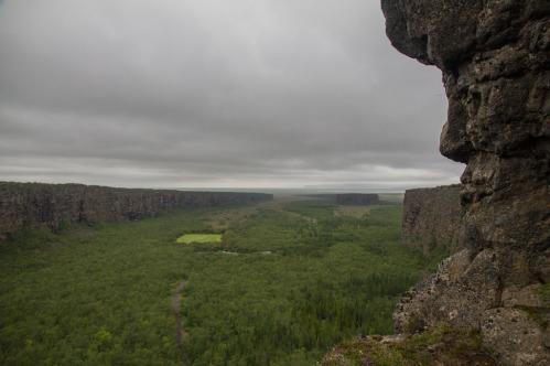 Ásbyrgi canyon.