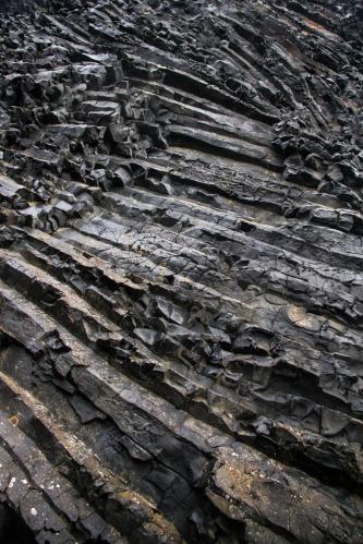 Lava formations, Jokulsargljufur canyon.
