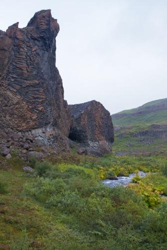 Jokulsargljufur canyon.