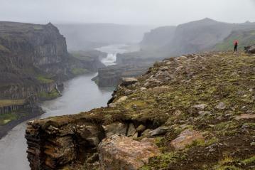 Hafragilsfoss, Jokulsargljufur canyon.