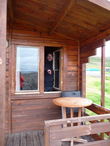 Cabin, Reykjahlíð, Lake Mývatn. (Photo © Kate Narewska.)