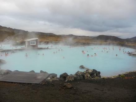 Mývatn Nature Baths, Reykjahlíð, Lake Mývatn. (Photo © Kate Narewska.)