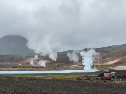 Geothermal power plant, Mývatn. (Photo © Kate Narewska.)