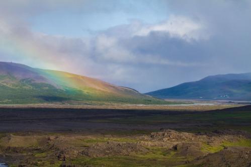 Sprengisandur route across the Icelandic interior.